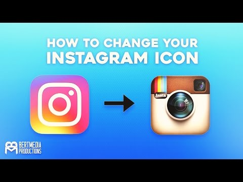 HOW TO Change Your New Instagram Icon To Normal! (Android)