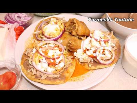 Tostadas de Pata y Lomo De Puerco Estilo8a