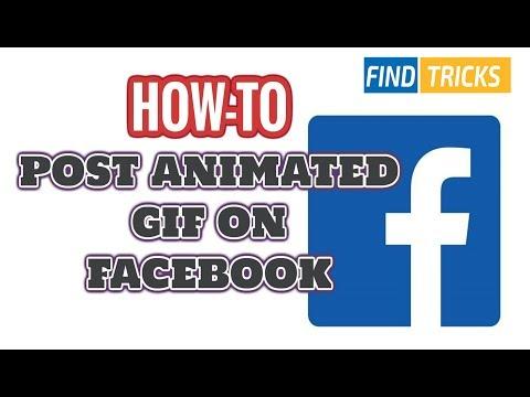 ✅ FaceBook Tricks: How to Post GIF image on Facebook Timeline | Find Tricks