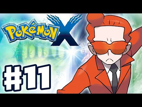 Pokemon X and Y - Gameplay Walkthrough Part 11 - Team Flare (Nintendo 3DS)