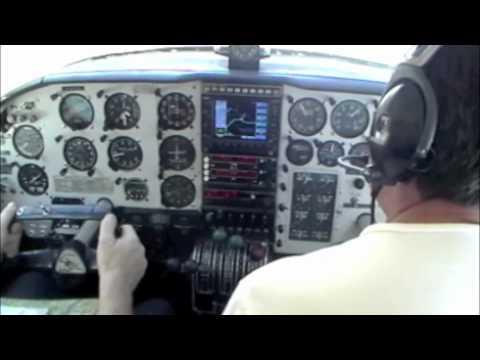 PA-23 checkout flight