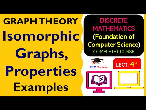 Isomorphic Graphs, Properties and Solved Examples - Graph Theory Lectures in Hindi