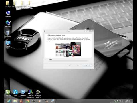How to install itunes in Windows 8 PC