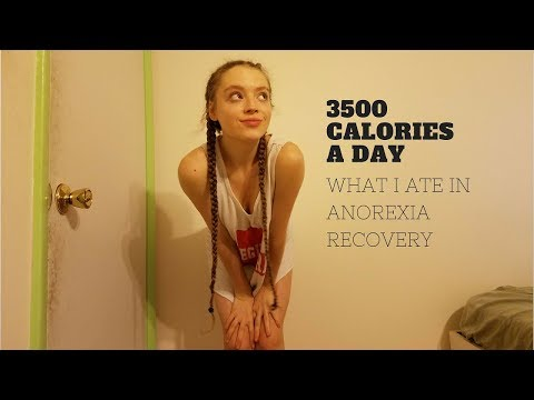 What I ate: anorexia recovery (3500 calories!)