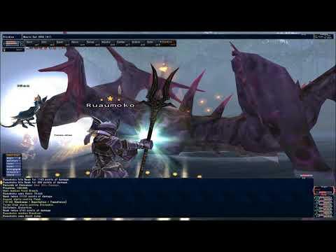 Final Fantasy XI: Dragoon vs Neak (Solo with Trust NPCs)