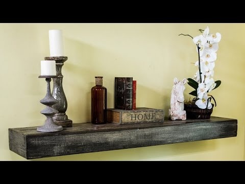 How to Make a Reclaimed Wood Mantel