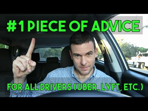 #1 PIECE OF ADVICE FOR ALL DRIVERS (Uber, Lyft, etc.) | Being An Independent Contractor