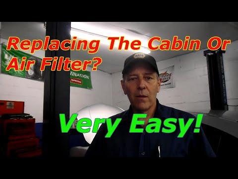How to replace the air and cabin filter on a 2005 Mazda 3