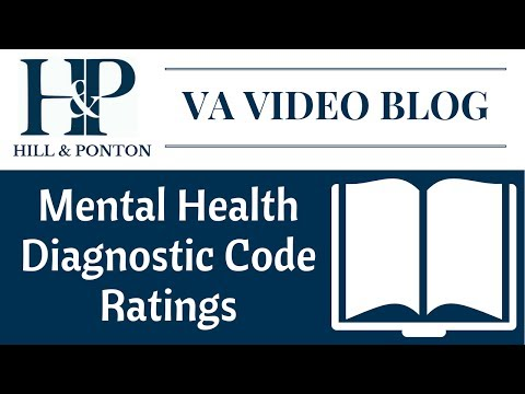 VA Mental Health Ratings