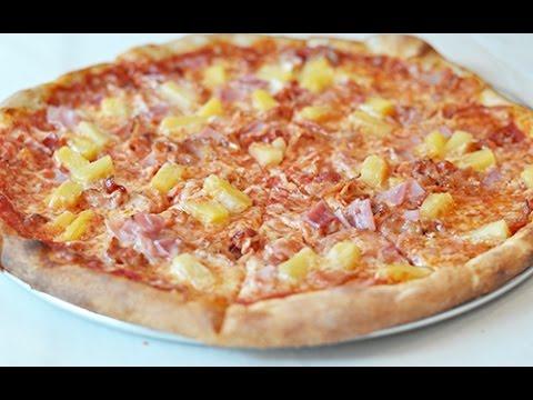 How to: Make a Hawaiian Pizza PIY