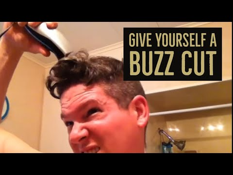 How to Give Yourself a Buzz Cut