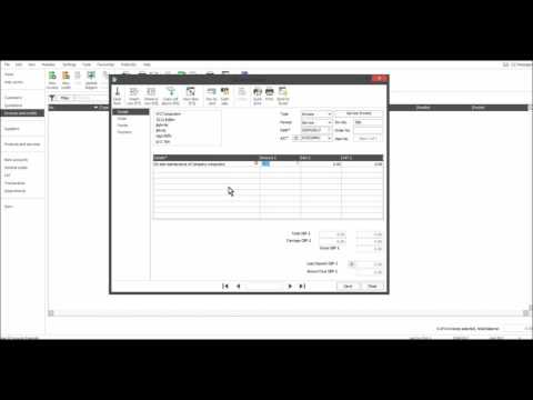Sage 50 Tutorial - Customer Module Part 8 - Raising Sales Invoices