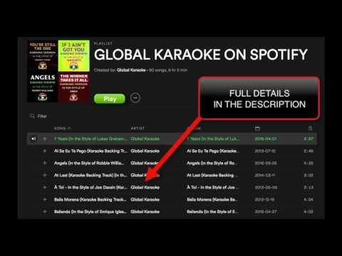 90 Karaoke Songs Snippets - Global Karaoke - Spotify Playlist