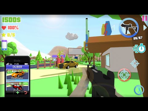 Dude Theft Wars: Open world Sandbox Simulator! (Beta) Android Gameplay Free Roaming