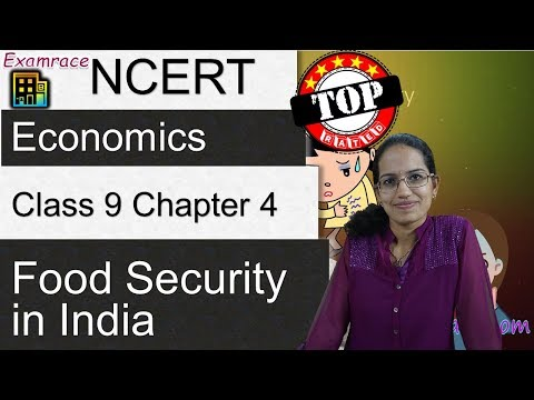 NCERT Class 9 Economics Chapter 4: Food Security in India