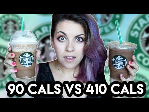 90 Calorie Frappuccino Vs. 410 Calorie Frappuccino