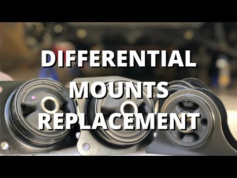 Differential Mounts Replacement | Honda S2000