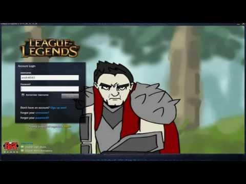 Darius High Fives Teemo - Custom Login Screen League of Legends