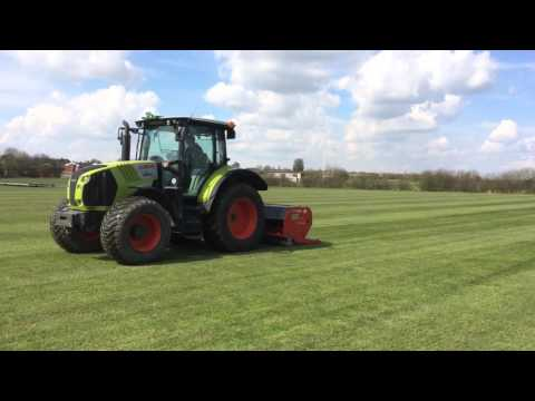 Sports Pitch Maintenance - Vertidraining