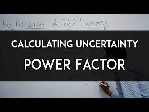 Calculating Uncertainty 4 - Power Factor
