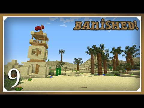 Minecraft Banished Modpack | Watering Can & Cactus! | E09 (Harsh Survival Minecraft 1.10.2)