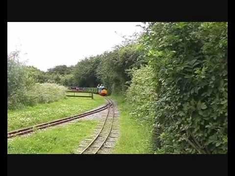 Wat Tyler Miniature Railway Basildon Essex  July 2012