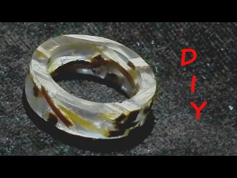 How To Make a Epoxy Ring