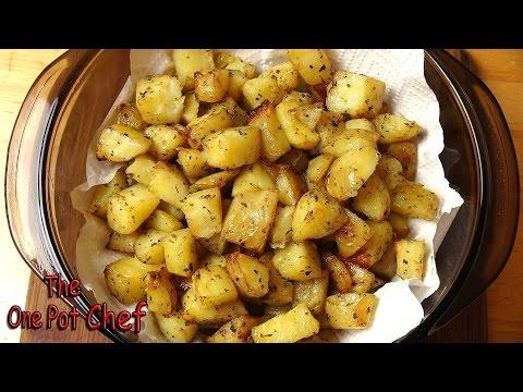 Seasoned Roast Potato Bites | One Pot Chef