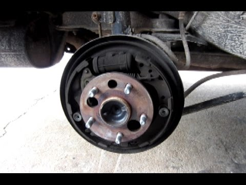 How to Replace Rear Wheel Bearing on a 1999 Toyota Camry Hub Assenbly