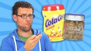 Irish People Taste Test Spanish Snacks