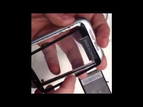 How To Change/Replace an  Htc Wildfire S Digitiser Screen