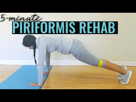 5 Minute low impact #3 Glute medius and Piriformis strengthening exercises