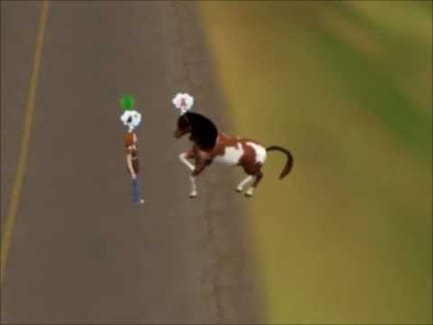 How To Tame/Adopt A Wild Horse on THE SIMS 3 PETS