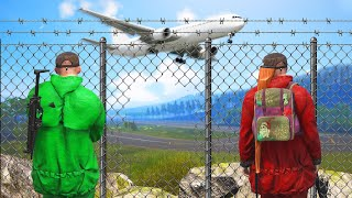 Breaking Into A Guarded Airport! (scum)