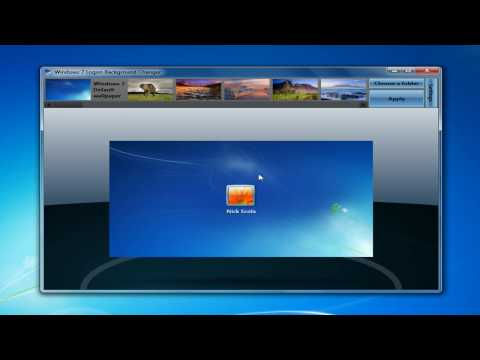 How to Change the Windows 7 Log On Screen Background