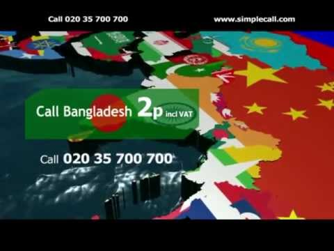 Call Bangladesh for just 2p (incl. VAT)