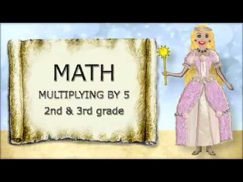 Math. Multiplying by 5
