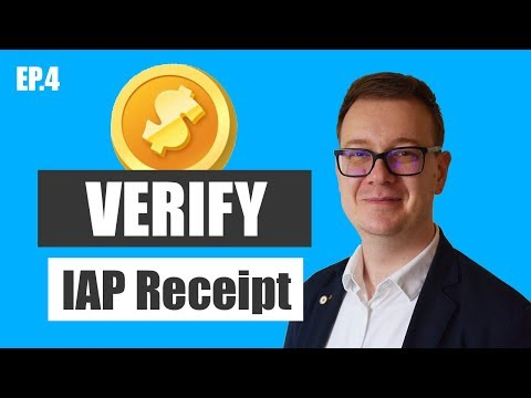 Verify In-app Purchases and Receipts Example Xcode 9 and Swift 4 and iOS 11 - Step by Step Tutorial