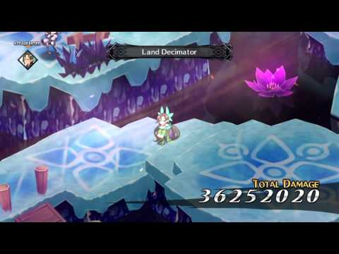 Disgaea 5: Alliance of Vengeance. Farming shards and prisoners with a sage.