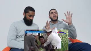 REACTING TO THE QURAN VERSE HE DIED UPON RECITING