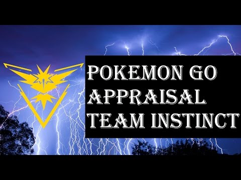 Pokemon Go - Appraisal Feature IV Checker - Team Instinct Spark - Discussion Overview Explained
