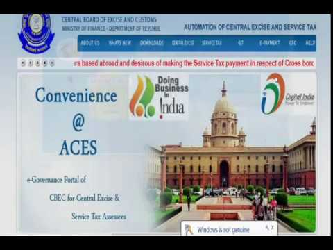 Migration GST - For excise & Service tax assessee