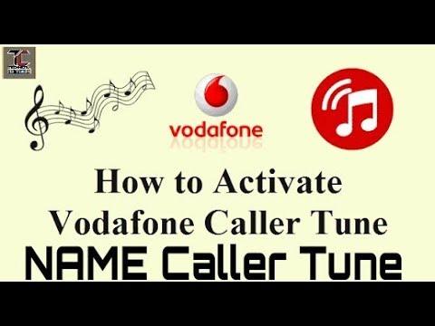 free vodafone caller tune tricks