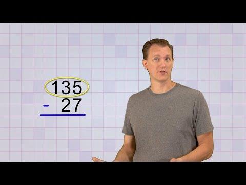 Math Antics - Multi-Digit Subtraction