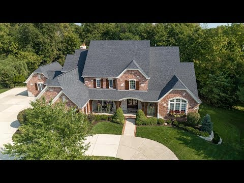 1300 Windgate Way Court Chesterfield MO Private Luxury Estate for Sale