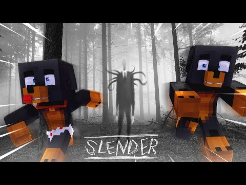 Minecraft - ESCAPE FROM SLENDERMAN WOODS - Modded Gameplay