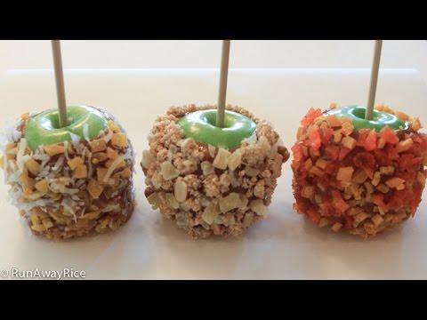 Asian-Inspired Caramel Apples