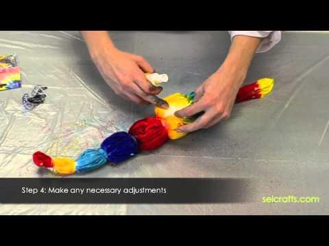 SEI Tumble dye Rubber Band Method Tutorial