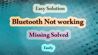 how to fix bluetooth problem in windows 7,8,8 1,10 - PakVim