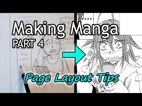 ❤How to Make Manga (PART 4)❤ Panel & Page Layout Tips